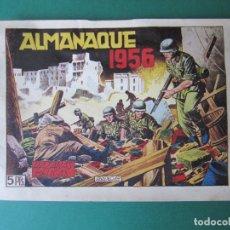 Tebeos: HAZAÑAS BELICAS (1950, TORAY) -2ª- EXTRA 6 · XII-1955 · ALMANAQUE 1956. Lote 172569029