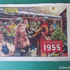 Tebeos: HAZAÑAS BELICAS (1950, TORAY) -2ª- EXTRA 5 · XII-1954 · ALMANAQUE 1955. Lote 172569334