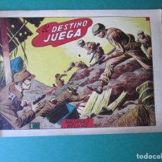 Giornalini: HAZAÑAS BELICAS (1950, TORAY) -2ª- 66 · 19-XII-1952 · EL DESTINO JUEGA. Lote 172572108