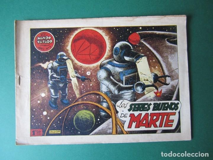 MUNDO FUTURO, EL (1955, TORAY) 1 · 1955 · LOS SERES BUENOS DE MARTE (Tebeos y Comics - Toray - Mundo Futuro)