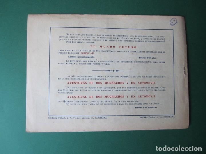 Tebeos: MUNDO FUTURO, EL (1955, TORAY) 1 · 1955 · LOS SERES BUENOS DE MARTE - Foto 2 - 172579328