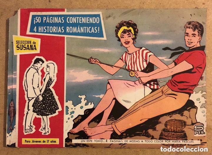 SELECCIÓN DE SUSANA (4 HISTORIAS ROMÁNTICAS). EDICIONES TORAY 1959. (Tebeos y Comics - Toray - Susana)