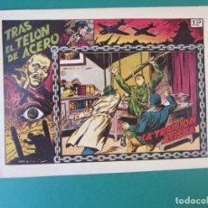 Tebeos: TRAS EL TELON DE ACERO (1952, TORAY) 2 · 1954 · LA TRAICION ATISBA. Lote 172657815