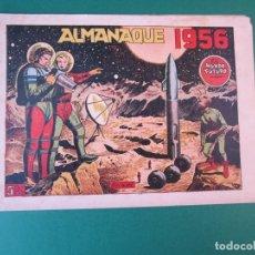 Tebeos: MUNDO FUTURO, EL (1955, TORAY) EXTRA 1 · XII-1955 · ALMANAQUE 1956. Lote 172658552