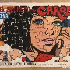 Tebeos: AZUCENA N° 1170 EL SECRETO DE CAROL (EDICIONES TORAY 1970).. Lote 172659038