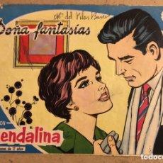 Tebeos: GUENDALINA N° 24 DOÑA FANTASÍAS, SILVANA MANGANO EN CONTRAPORTADA (EDICIONES TORAY 1959).. Lote 172662399