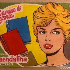 Tebeos: GUENDALINA N° 10 CAMINO DE GLORIA, CHARLTON HESTON EN CONTRAPORTADA (EDICIONES TORAY 1959).. Lote 172662434