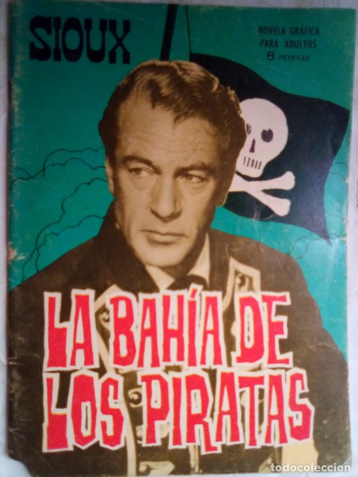 SIOUX- Nº 61 - LA BAHÍA DE LOS PIRATAS-1966-GRAN JOSÉ DUARTE-BUENO-MUY DIFÍCIL-LEAN-1687 (Tebeos y Comics - Toray - Sioux)
