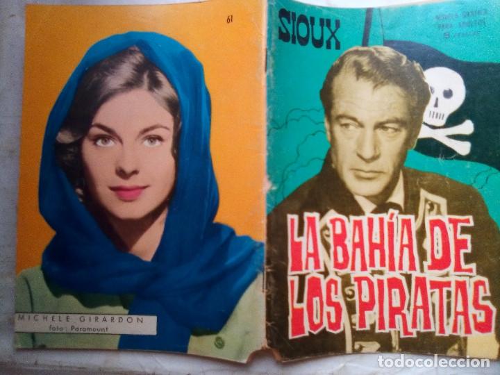 Tebeos: SIOUX- Nº 61 - LA BAHÍA DE LOS PIRATAS-1966-GRAN JOSÉ DUARTE-BUENO-MUY DIFÍCIL-LEAN-1687 - Foto 2 - 172677877
