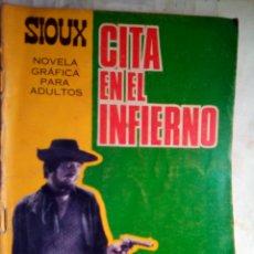 BDs: SIOUX- Nº 78 - CITA EN EL INFIERNO-1967-GRAN A. MÁS-CORRECTO-MUY DIFÍCIL-LEAN-1688. Lote 172679497
