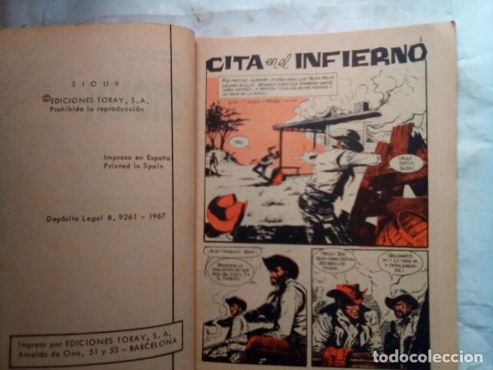 Tebeos: SIOUX- Nº 78 - CITA EN EL INFIERNO-1967-GRAN A. MÁS-CORRECTO-MUY DIFÍCIL-LEAN-1688 - Foto 4 - 172679497
