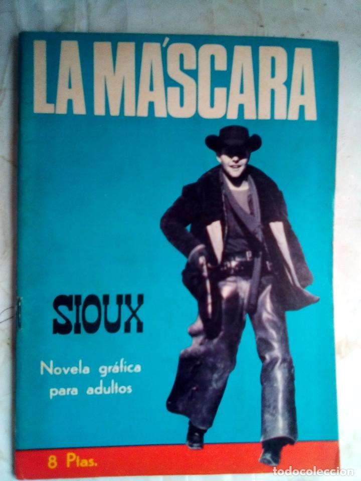 SIOUX- Nº 83 - LA MÁSCARA -1967-GRAN JOSÉ DUARTE-CASI BUENO-ÚNICO EN TODOCOLECCIÓN-LEAN-3553 (Tebeos y Comics - Toray - Sioux)