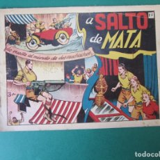 Tebeos: VUELTA AL MUNDO DE DOS MUCHACHOS, LA (1951, TORAY) 4 · 1951 · A SALTO DE MATA. Lote 172726685