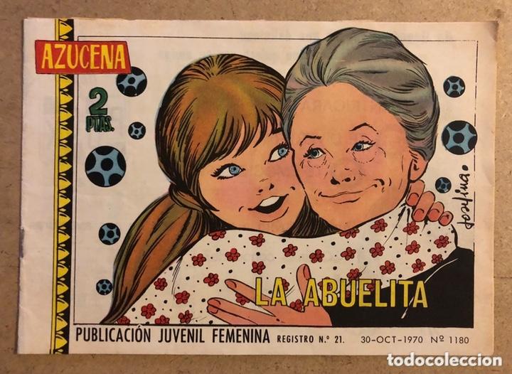 AZUCENA N° 1180 LA ABUELITA (EDICIONES TORAY 1970). (Tebeos y Comics - Toray - Azucena)