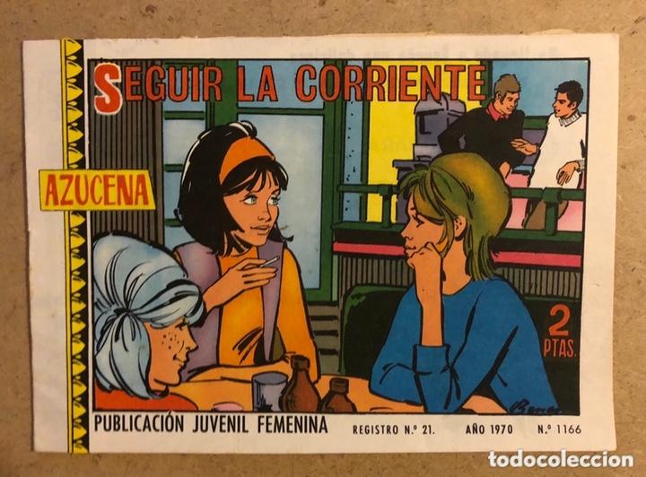 AZUCENA N° 1166 SEGUIR LA CORRIENTE (EDICIONES TORAY 1970). (Tebeos y Comics - Toray - Azucena)