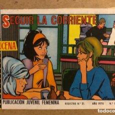 Tebeos: AZUCENA N° 1166 SEGUIR LA CORRIENTE (EDICIONES TORAY 1970).. Lote 172728932
