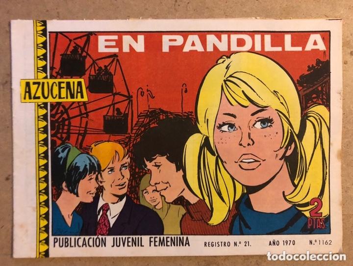 AZUCENA N° 1162 EN PANDILLA (EDICIONES TORAY 1970). (Tebeos y Comics - Toray - Azucena)
