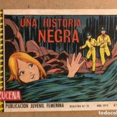 Tebeos: AZUCENA N° 1159 UNA HISTORIA NEGRA (EDICIONES TORAY 1970).. Lote 172729087