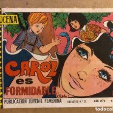 Tebeos: AZUCENA N° 1158 CAROL ES FORMIDABLE (EDICIONES TORAY 1970).. Lote 172729107