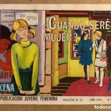 Tebeos: AZUCENA N° 1153 ¿CUÁNDO SERÉ MUJER?(EDICIONES TORAY 1970).. Lote 172729200