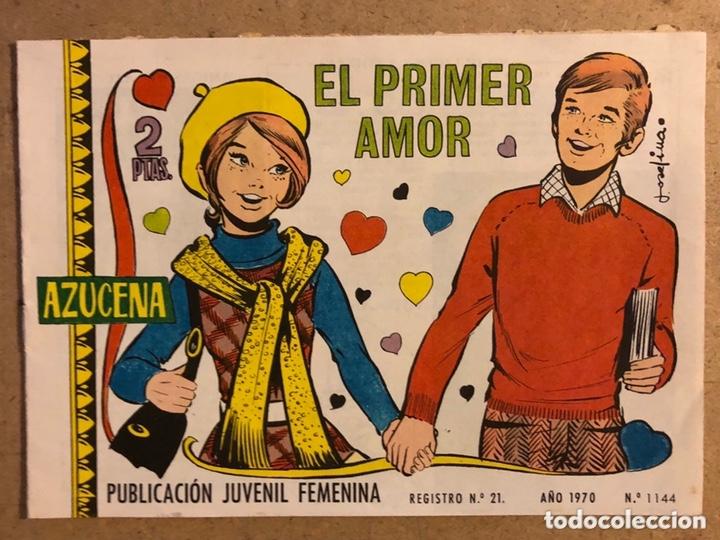 AZUCENA N° 1144 EL PRIMER AMOR (EDICIONES TORAY 1970). (Tebeos y Comics - Toray - Azucena)