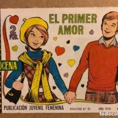 Tebeos: AZUCENA N° 1144 EL PRIMER AMOR (EDICIONES TORAY 1970).. Lote 172729330