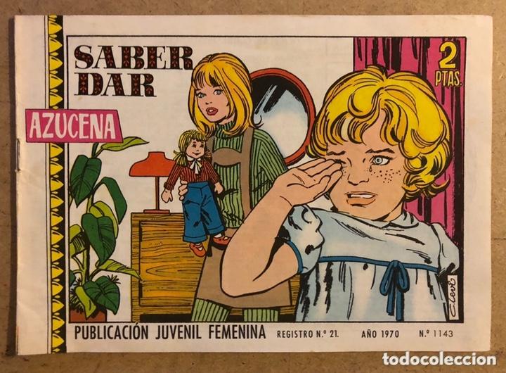 AZUCENA N° 1143 SABER DAR (EDICIONES TORAY 1970). (Tebeos y Comics - Toray - Azucena)