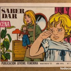 Tebeos: AZUCENA N° 1143 SABER DAR (EDICIONES TORAY 1970).. Lote 172729355