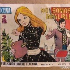 Tebeos: AZUCENA N° 1140 NO SOMOS INFALIBLES (EDICIONES TORAY 1970).. Lote 172729503