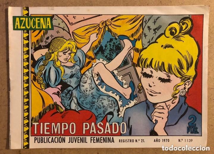 AZUCENA N° 1139 TIEMPO PASADO (EDICIONES TORAY 1970). (Tebeos y Comics - Toray - Azucena)
