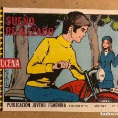 Tebeos: AZUCENA N° 1124 SUEÑO REALIZADO (EDICIONES TORAY 1969).. Lote 172729954