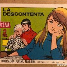 Tebeos: AZUCENA N° 1113 LA DESCONTENTA (EDICIONES TORAY 1969).. Lote 172730229