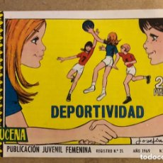 Tebeos: AZUCENA N° 1103 DEPORTIVIDAD (EDICIONES TORAY 1969).. Lote 172730292