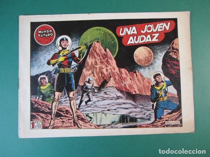 MUNDO FUTURO, EL (1955, TORAY) 24 · 1955 · UNA JOVEN AUDAZ (Tebeos y Comics - Toray - Mundo Futuro)