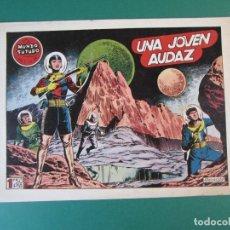 Tebeos: MUNDO FUTURO, EL (1955, TORAY) 24 · 1955 · UNA JOVEN AUDAZ. Lote 172770614