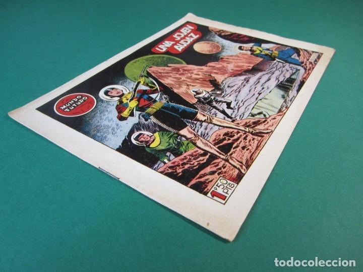 Tebeos: MUNDO FUTURO, EL (1955, TORAY) 24 · 1955 · UNA JOVEN AUDAZ - Foto 3 - 172770614