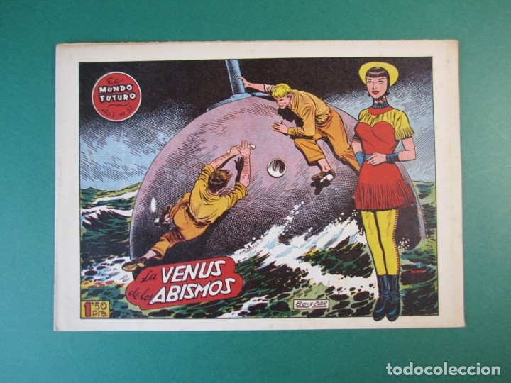 MUNDO FUTURO, EL (1955, TORAY) 37 · 1955 · LA VENUS DE LOS ABISMOS (Tebeos y Comics - Toray - Mundo Futuro)