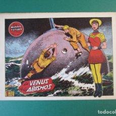 Tebeos: MUNDO FUTURO, EL (1955, TORAY) 37 · 1955 · LA VENUS DE LOS ABISMOS. Lote 172771242