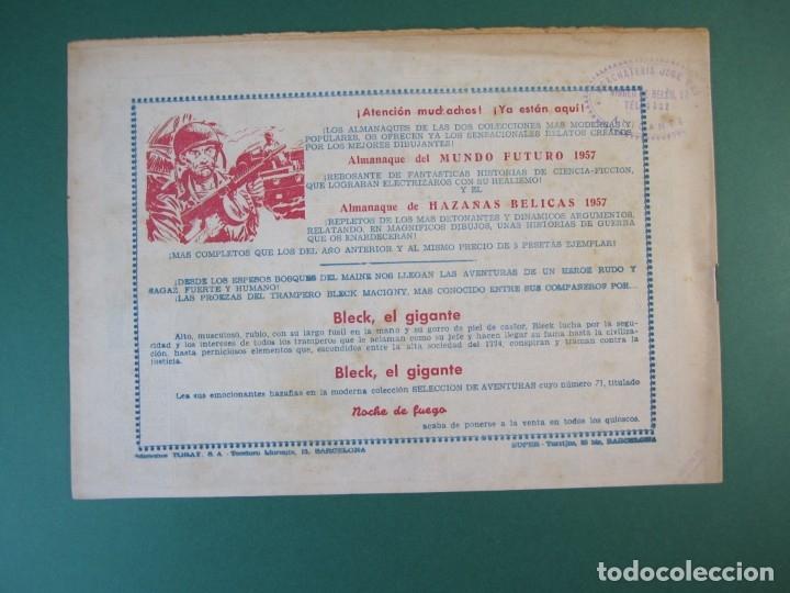 Tebeos: MUNDO FUTURO, EL (1955, TORAY) 37 · 1955 · LA VENUS DE LOS ABISMOS - Foto 2 - 172771242