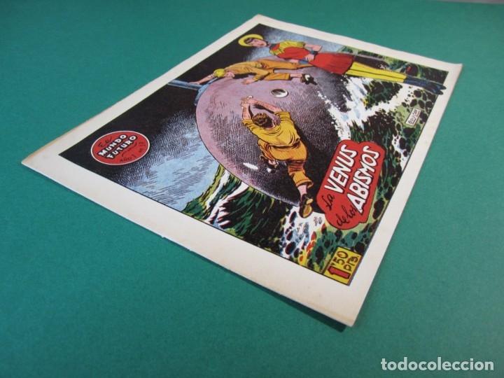 Tebeos: MUNDO FUTURO, EL (1955, TORAY) 37 · 1955 · LA VENUS DE LOS ABISMOS - Foto 3 - 172771242