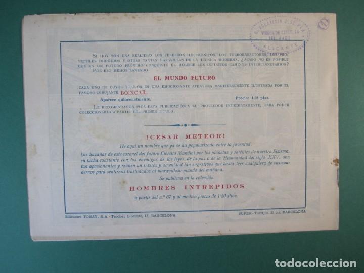 Tebeos: MUNDO FUTURO, EL (1955, TORAY) 32 · 1955 · EL TESORO LEJANO - Foto 2 - 172771448
