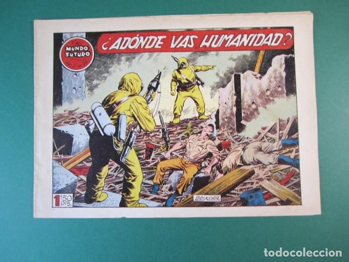 MUNDO FUTURO, EL (1955, TORAY) 26 · 1955 · ADONDE VAS HUMANIDAD (Tebeos y Comics - Toray - Mundo Futuro)