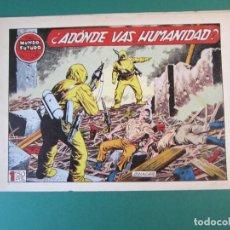 Tebeos: MUNDO FUTURO, EL (1955, TORAY) 26 · 1955 · ADONDE VAS HUMANIDAD. Lote 172772222