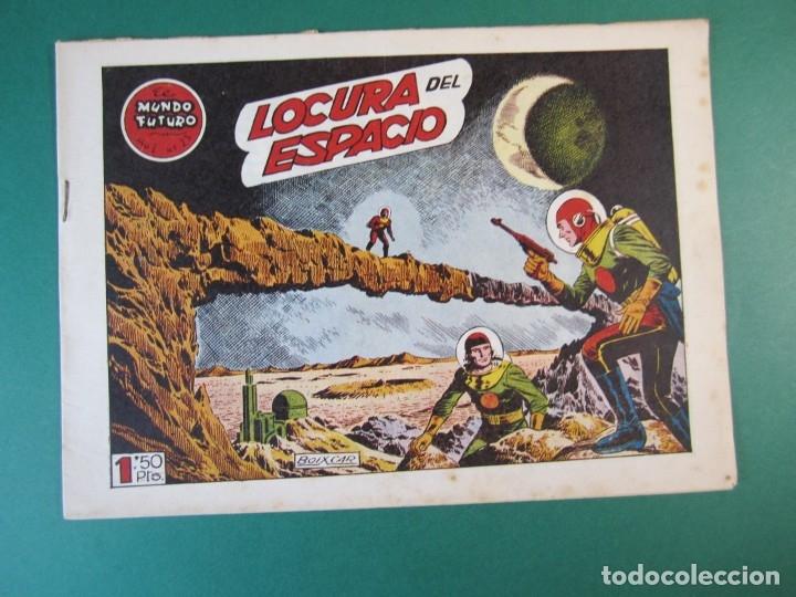 MUNDO FUTURO, EL (1955, TORAY) 25 · 1955 · LOCURA DEL ESPACIO (Tebeos y Comics - Toray - Mundo Futuro)