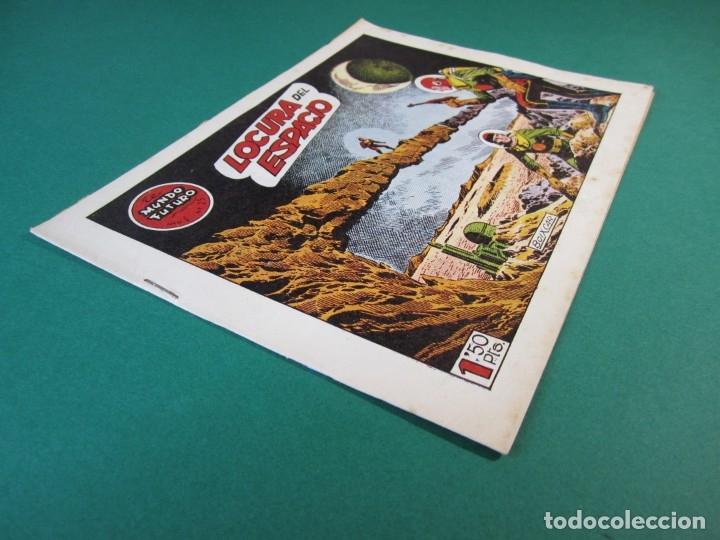 Tebeos: MUNDO FUTURO, EL (1955, TORAY) 25 · 1955 · LOCURA DEL ESPACIO - Foto 3 - 172772472