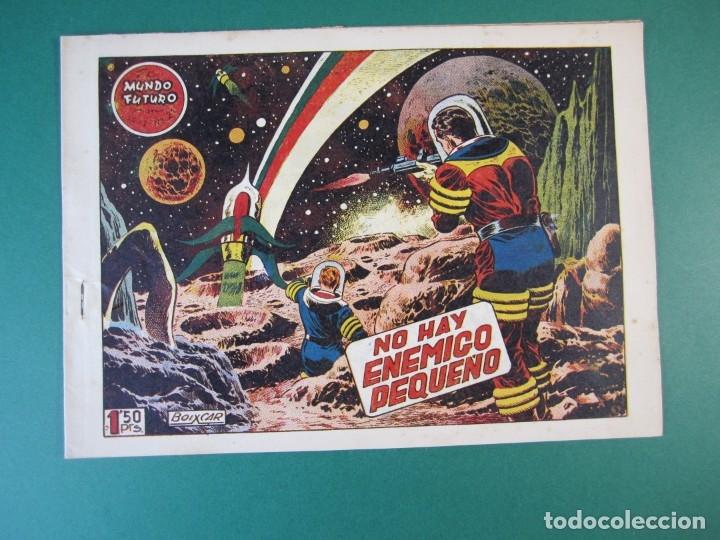 MUNDO FUTURO, EL (1955, TORAY) 21 · 1955 · NO HAY ENEMIGO PEQUEÑO (Tebeos y Comics - Toray - Mundo Futuro)