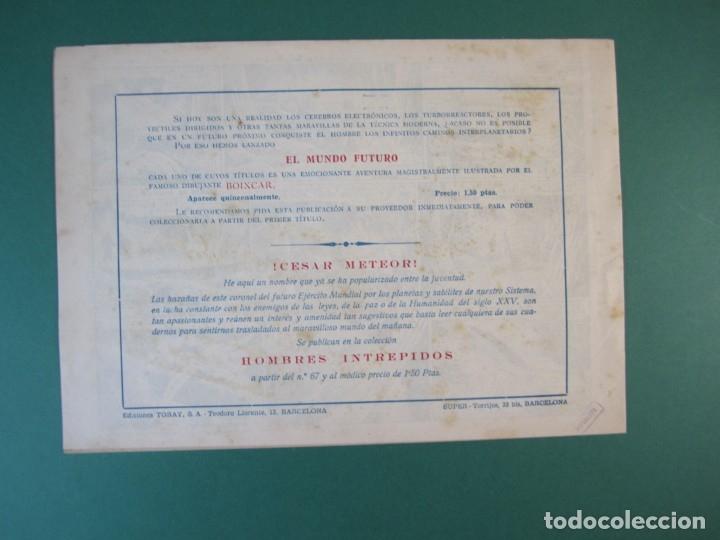 Tebeos: MUNDO FUTURO, EL (1955, TORAY) 21 · 1955 · NO HAY ENEMIGO PEQUEÑO - Foto 2 - 172773737