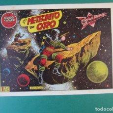 Tebeos: MUNDO FUTURO, EL (1955, TORAY) 20 · 1955 · EL METEORITO DE ORO. Lote 172773925