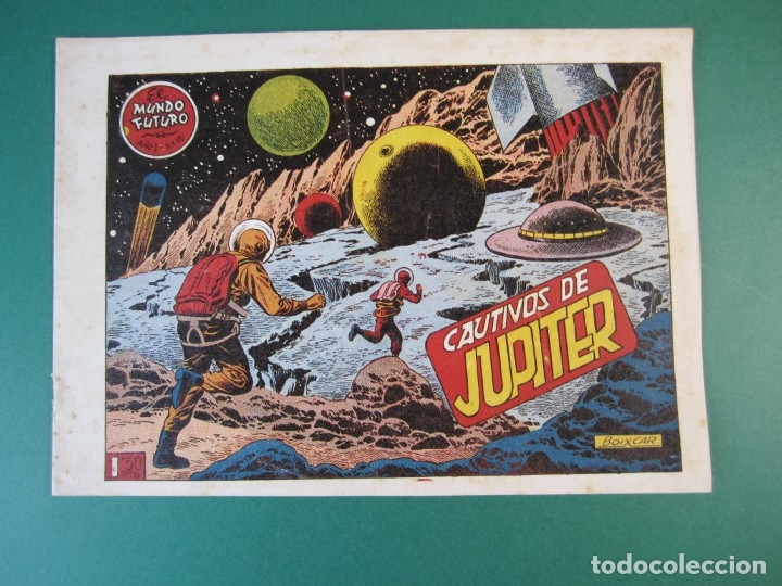 MUNDO FUTURO, EL (1955, TORAY) 18 · 1955 · CAUTIVOS DE JUPITER (Tebeos y Comics - Toray - Mundo Futuro)