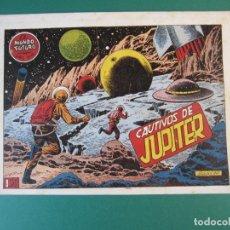 Tebeos: MUNDO FUTURO, EL (1955, TORAY) 18 · 1955 · CAUTIVOS DE JUPITER. Lote 172774390